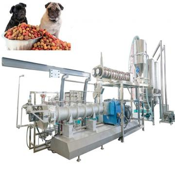 1-1.5t Double Screws Corn Meal Dry Pet Food Dog Food Making Extruder