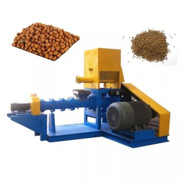 equipment for the production of dog food treat exruding maker machine