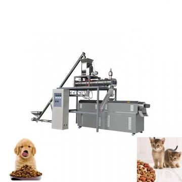 Automatic Dog Cat Fish Pet Food Extruder Machinery Equipment Plant Production Line
